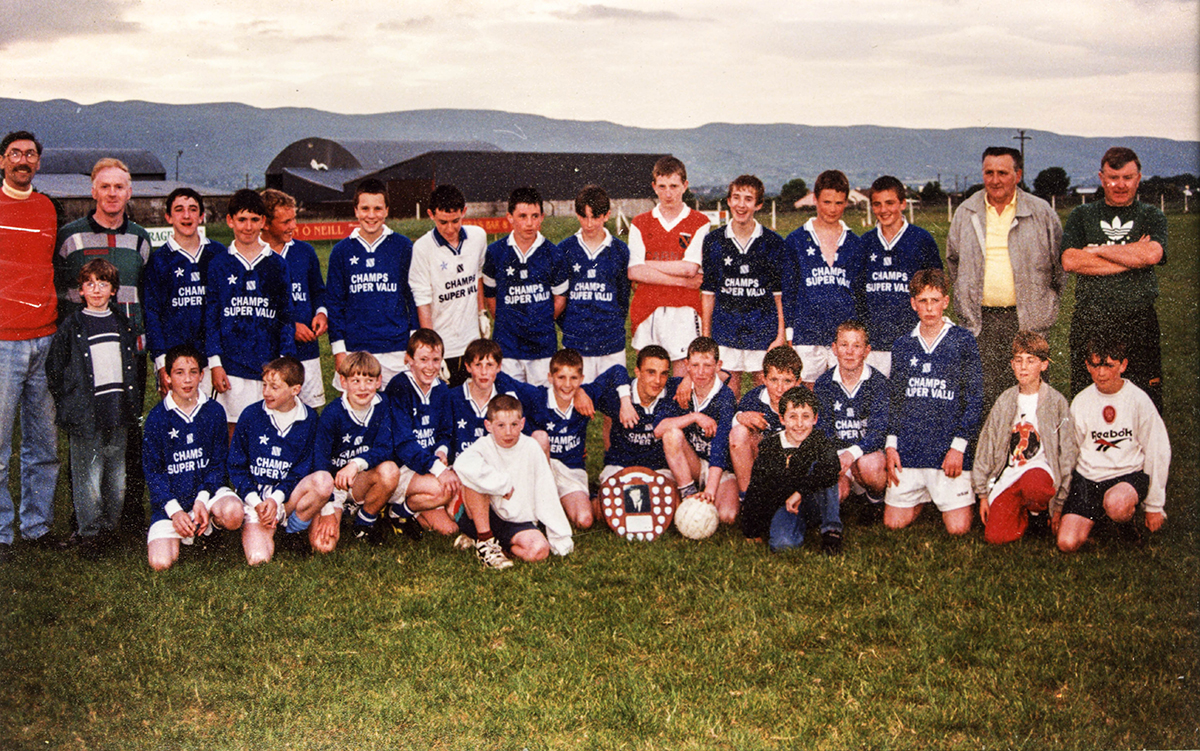 Laune Rangers – 1997 Mid-Kerry U-14 Football Champions