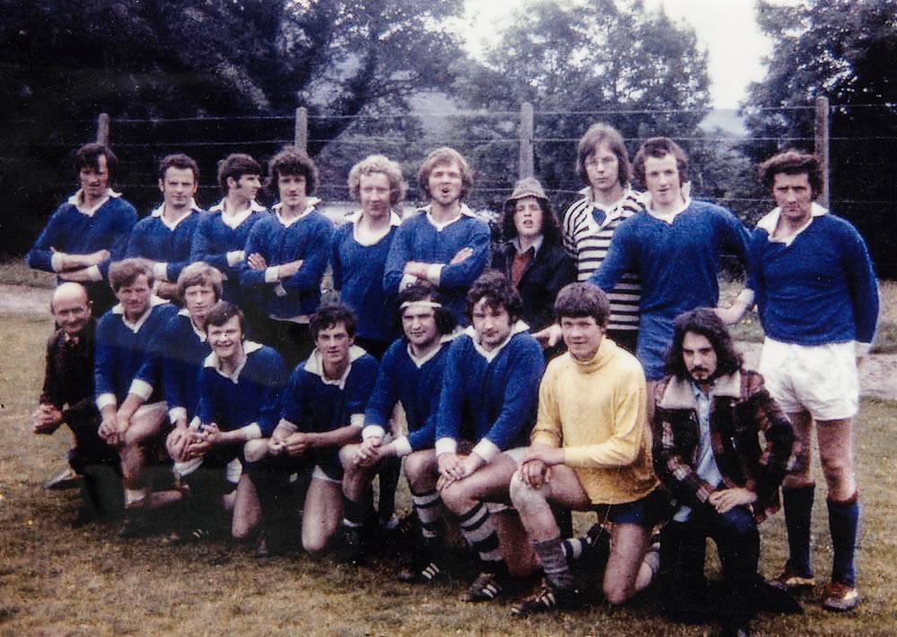 Laune Rangers – v Kenmare in 1975 Co. SFL Div. 1