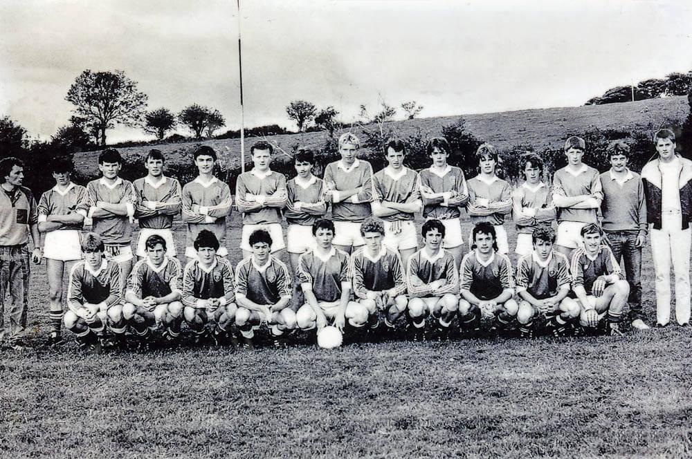 Laune Rangers – 1986 Co. Minor Football Championship Finalists