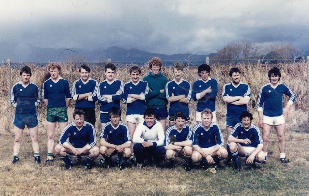 Laune Rangers 'B' – v Dromid in the 1986 Co. SFL Div. 4