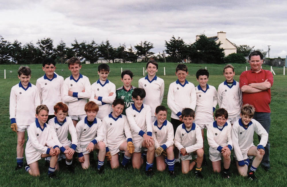 Scoil Mhuire 'A' – 1993 Mid-Kerry NS Champions (4+ Teachers)