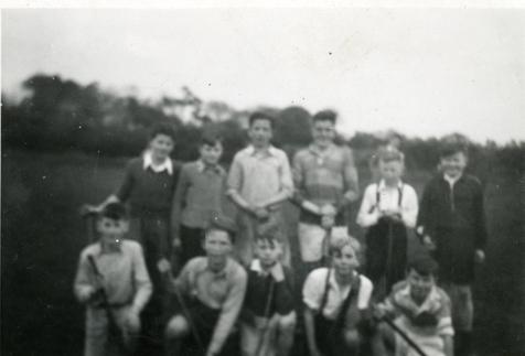 'Glen Rovers' – 1954 Juvenile Hurling Town-League runners-up