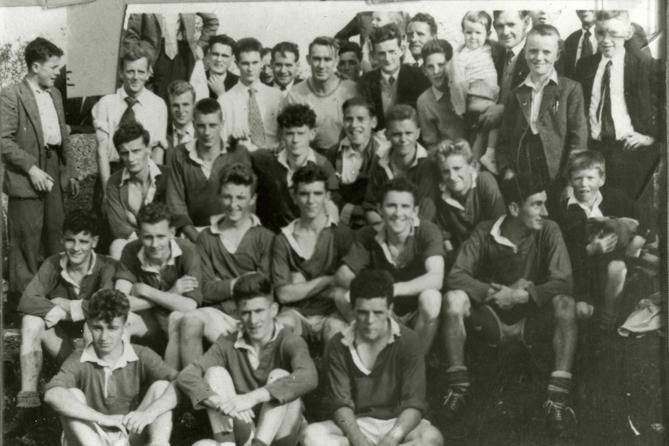 The Town – Parish League Senior Football Champions 1959