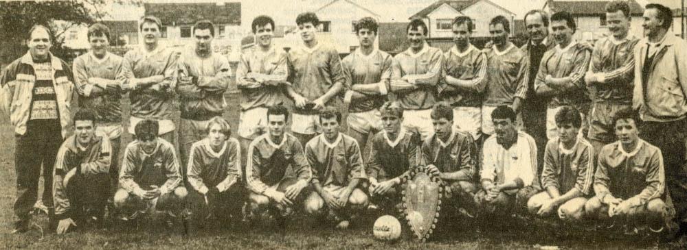Laune Rangers – 1992 Co. SF League Div. 1 Champions