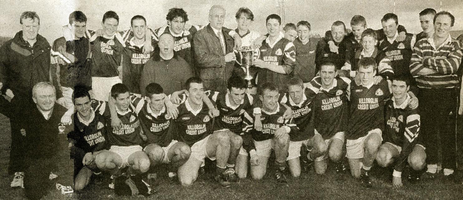 Laune Rangers – 1998 Co. Minor League Div. 1 Champions