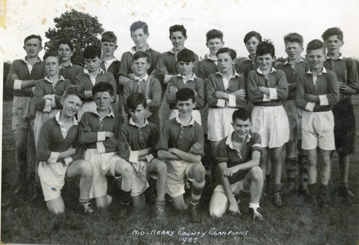 Mid-Kerry U-14 Football Team – Co. Champions 1957