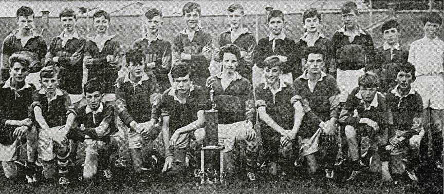 Mid-Kerry U-14 Football Team – Co. Champions 1968