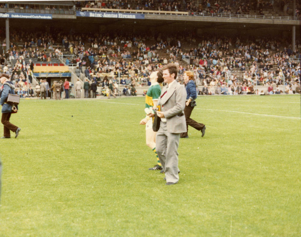 Jerome Conway – Co. Minor Football Selector 1979 in Croke Park