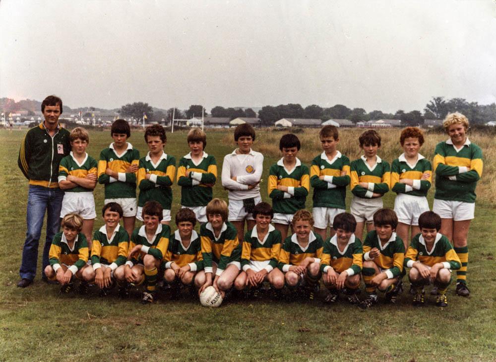 Killorglin – All-Ireland Community Games' Football Runners-up 1981
