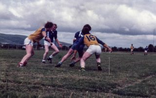 Laune Rangers v Beaufort – Mid-Kerry SFC Final 1984 DD. O Sullivan (B), Frank Russell, John O Dwyer, Simon O Sullivan (B).