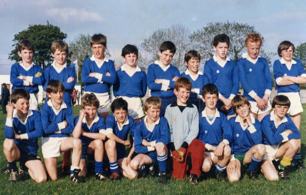 Laune Rangers – Co. U-12 Football Runners-up 1985