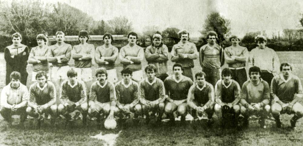 Laune Rangers – Co. SFL Div. 1 Winners 1986
