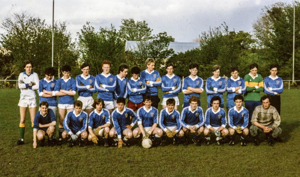 Laune Rangers – Co. Minor Football League Div. 1 Winners 1986