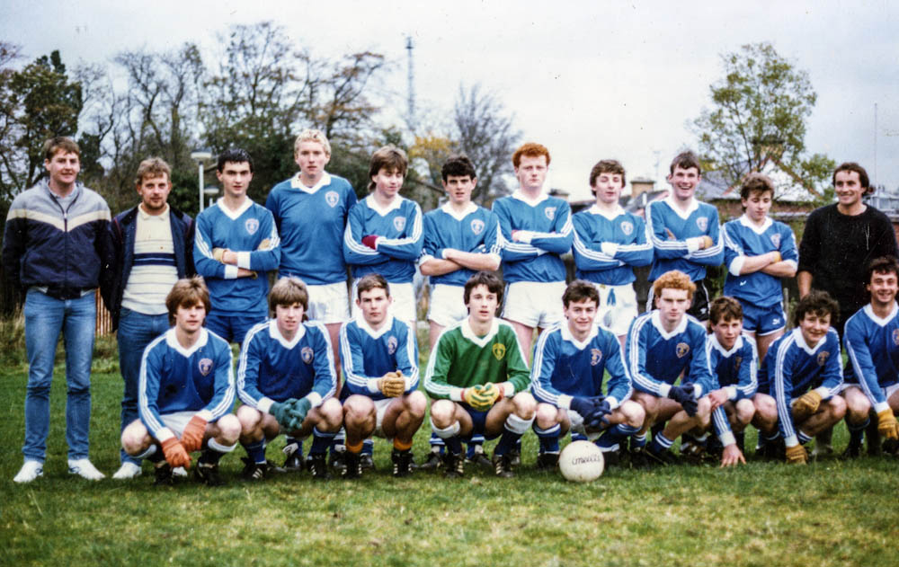 Laune Rangers Minor Footballers in Omagh in 1986