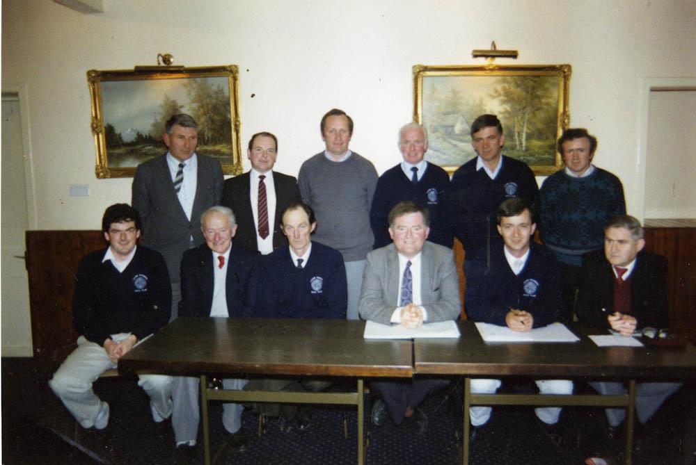 Laune Rangers Executive Committee 1988