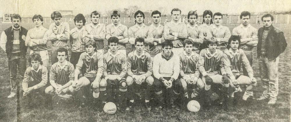 Laune Rangers – Co. U-21 Football Championship Runners-up 1988