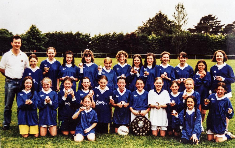 Scoil Mhuire – 1999 Co. Schools Girls Football Div. 1 Champions