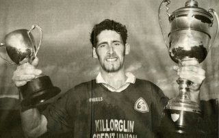 John Sheehan with Mid Kerry double