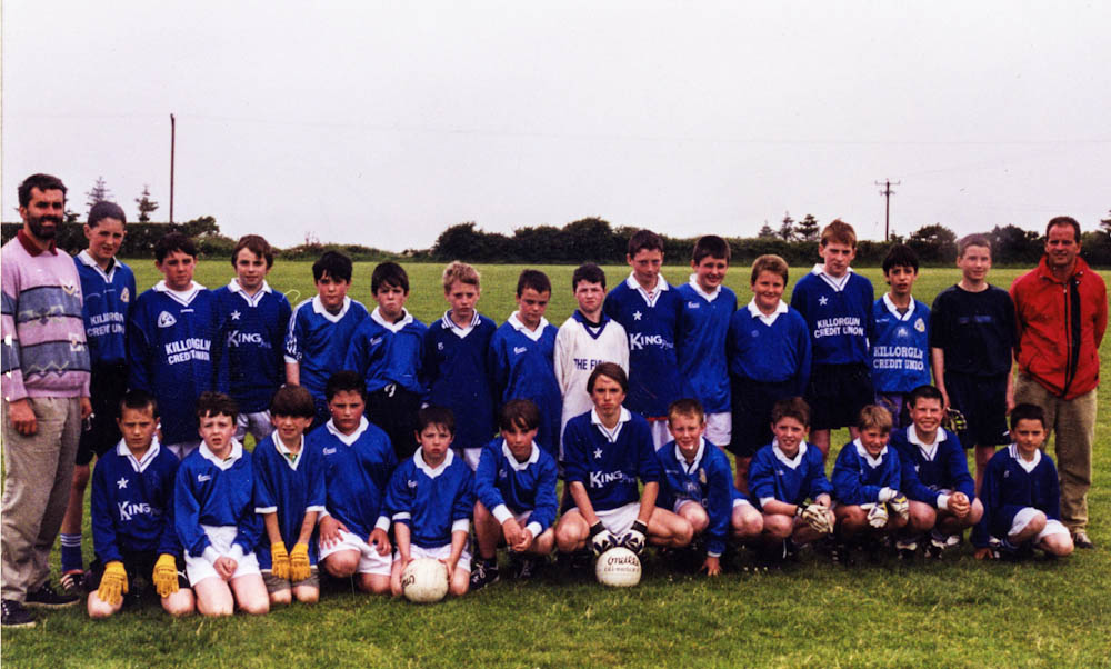 Scoil Mhuire – 2000 Football Team