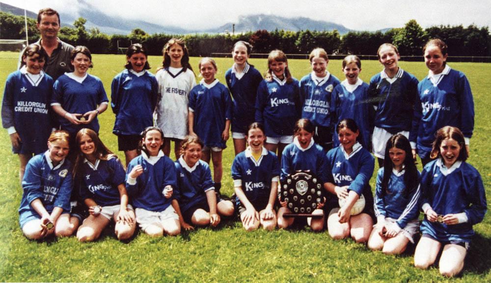 Scoil Mhuire – 2000 Co. Schools Girls Football Div. 1 Champions