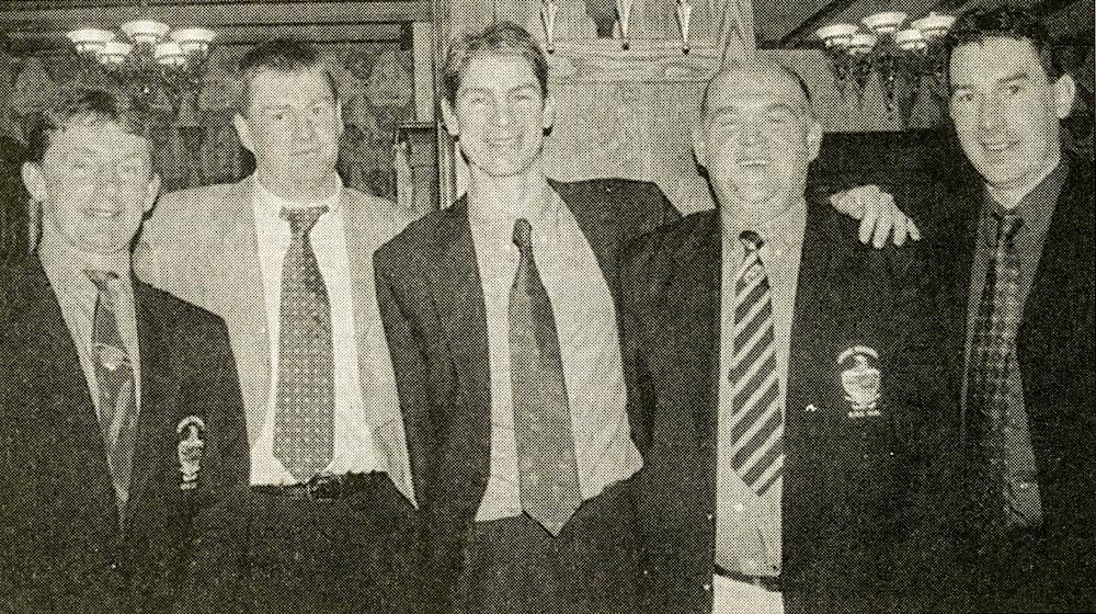 Shane O Sullivan, Pierce Prendiville, Gerard Murphy, John Evans and Pa Murphy