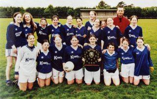 Scoil Mhuire – 2001 Co Schools Girls Football Div. 1 Champions