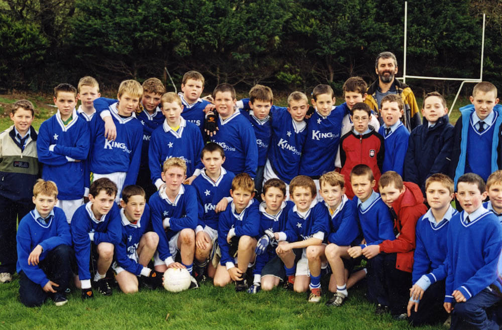 Scoil Mhuire – 2004 Urban Schools Div. 3 Football Runners-up
