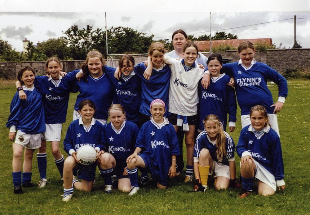 Scoil Mhuire – 2005 Girls Football Team
