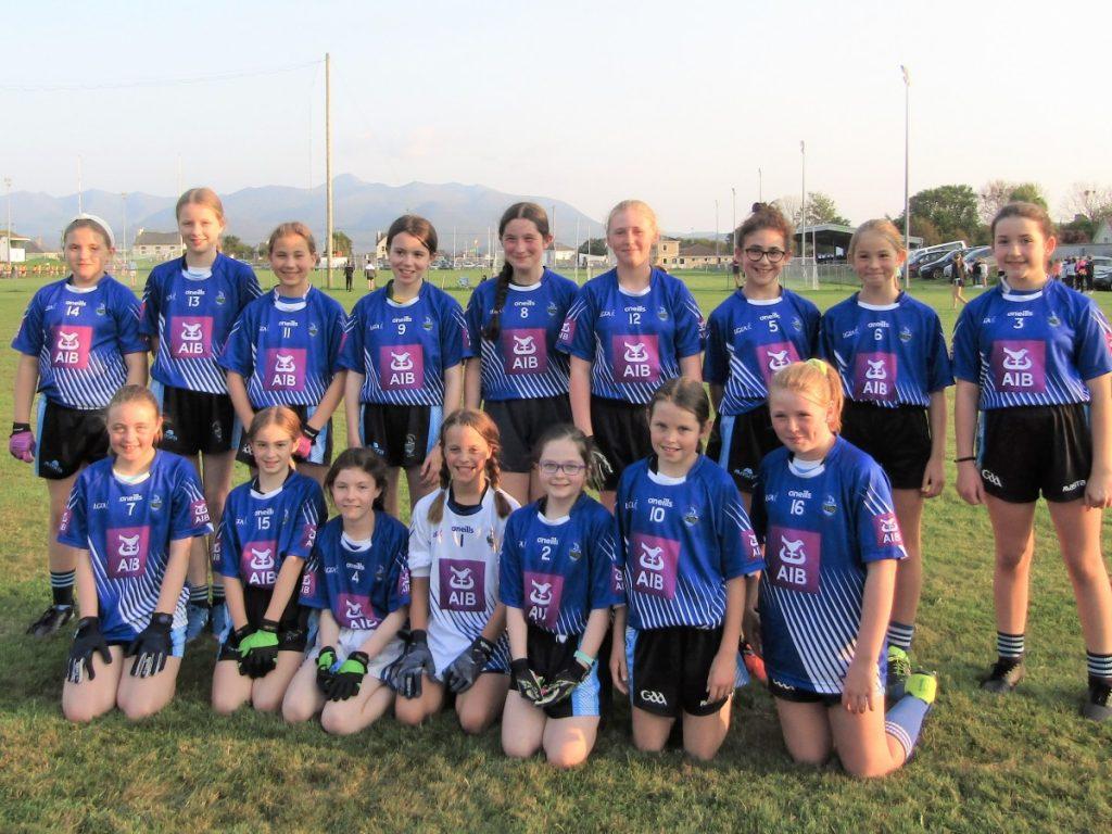 Under 12 Girls vs Abbeydorney